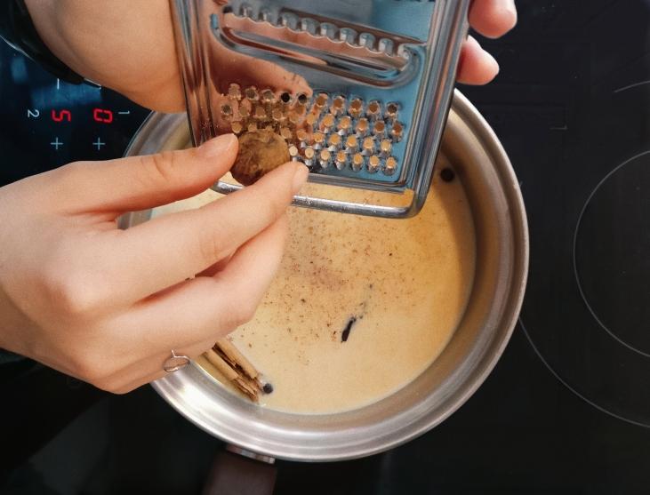quick vegan pumpkin spice latte recipe