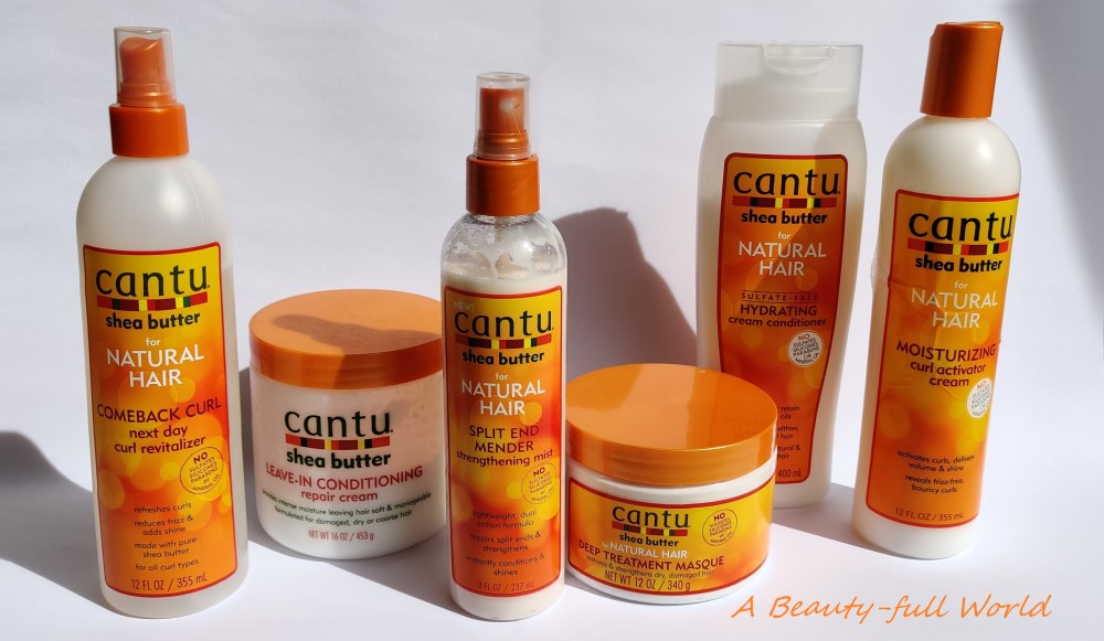 Cantu Natural Hair Products Review